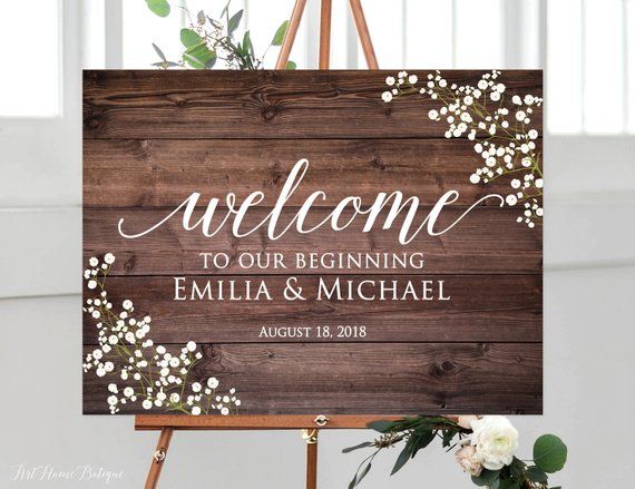37 etsy wedding welcome