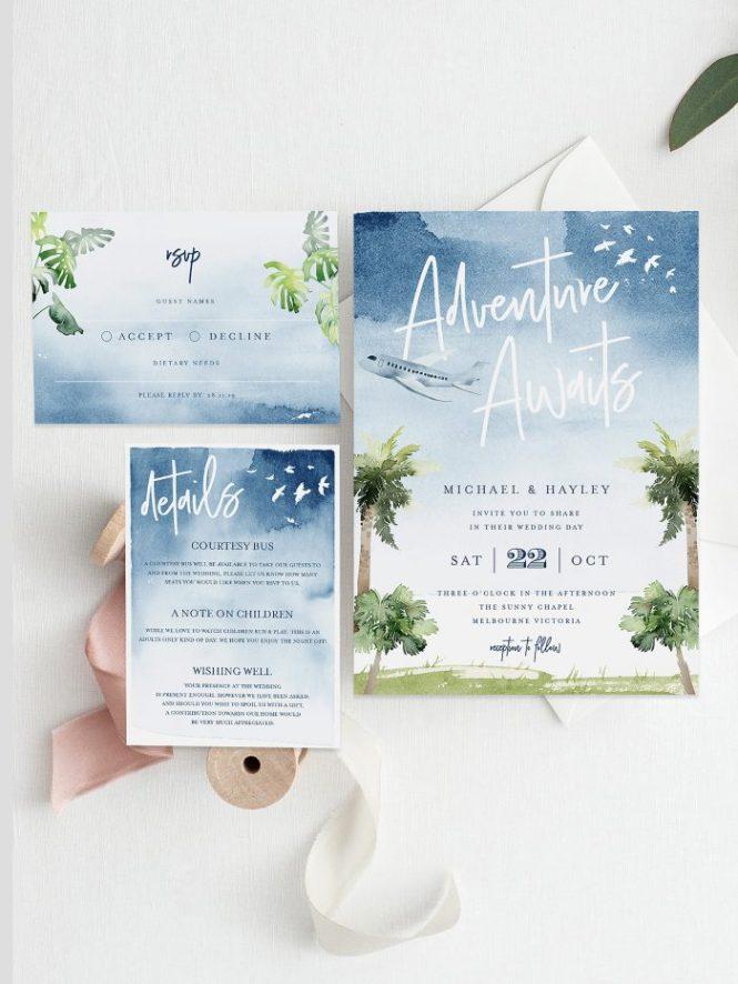 Destination Wedding Invitations