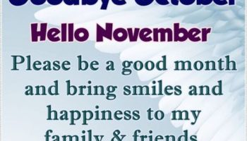 Goodbye September Hello October Quotes And Sayings