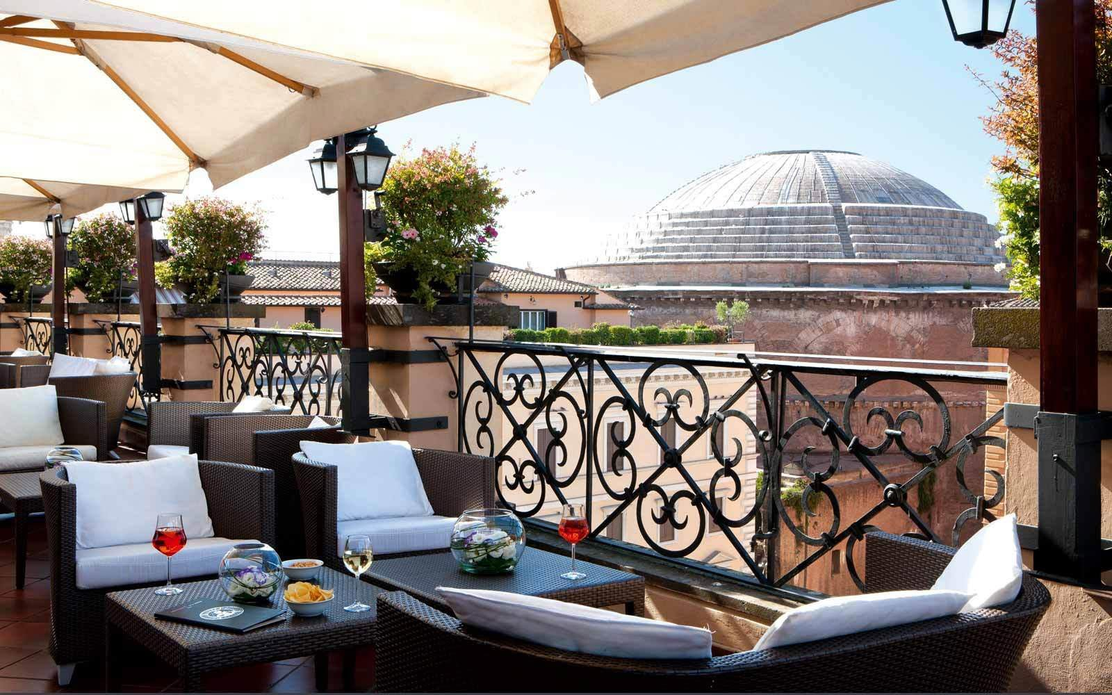 Grant Hotel Minerva Roof Garden Rome