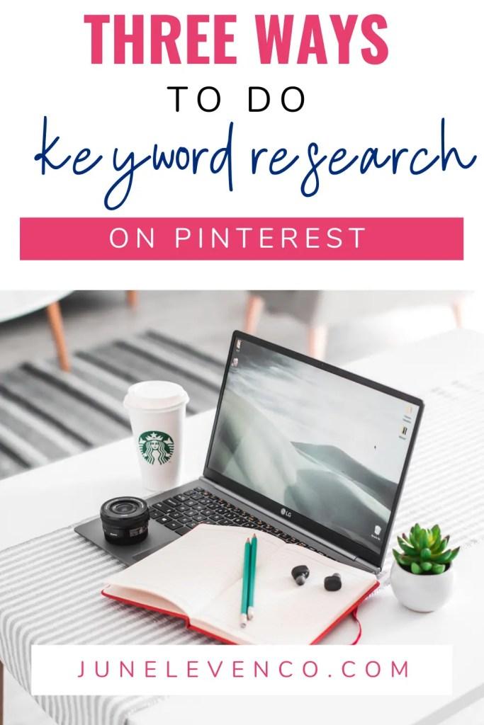 3 Ways To Do Keyword Research on Pinterest