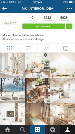I couldn't find a website or any page that this account is linked to so I'll just say it: follow this account if you want to see damn pretty house photos.