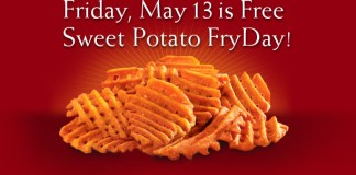 Sweet Potato Waffle Fries at Chick-fil-A | June's Journal image 2