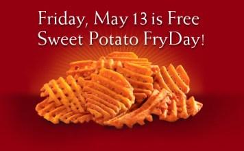 Sweet Potato Waffle Fries at Chick-fil-A | June's Journal image 2