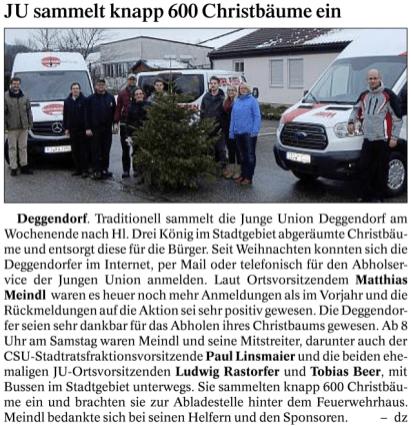 Deggendorfer Zeitung 12.01.2016