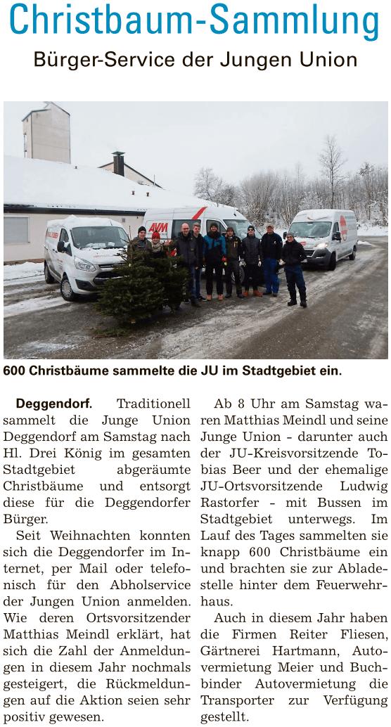 Deggendorf Aktuell 12.01.2017