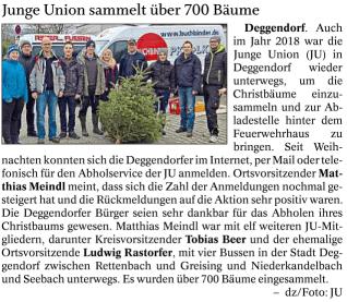 Deggendorfer Zeitung 27.01.2018