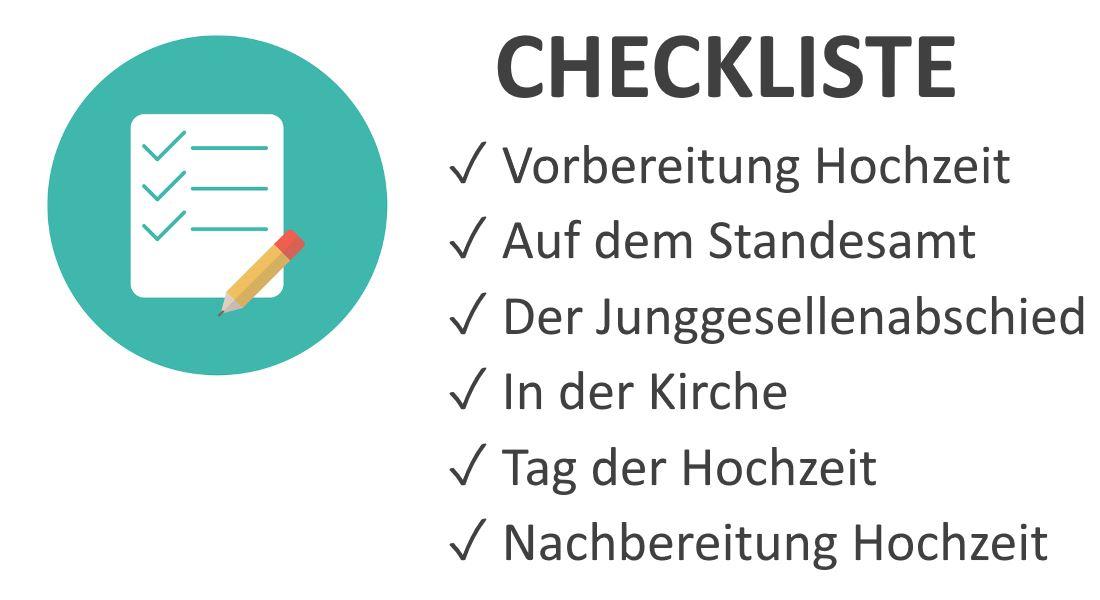 Trauzeugen Aufgaben Checkliste mit allen Pflichten vor  nach Hochzeit