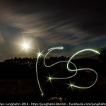 Ein kleiner Gruß an die ISS