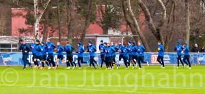 Das Team von Hertha BSC - mein Motiv für Sportfotografie