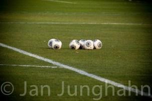 Das Spielgerät soll auch mal im Fokus der Sportfotografie sein.