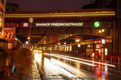 Bewegungsunschärfe - Berlin am Abend