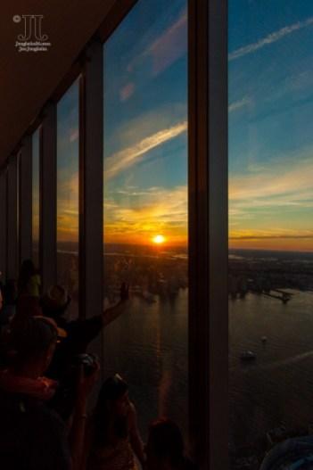 Die Sonne geht über New York unter. http://junghahn24.com/finale-in-new-york/
