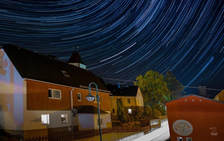 Am Himmel im Januar 2020 sind auch Sternschnuppen zu sehen