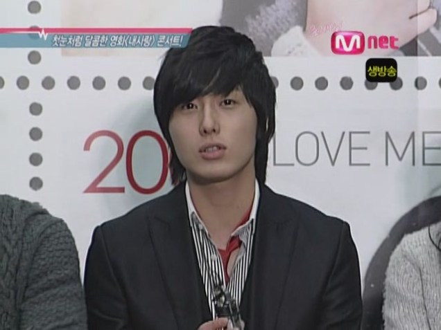 2007 11 16 My Love Showcase Cast Interview 4