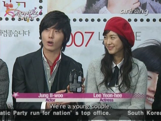 2007 11 16 My Love Showcase Cast Interview 6