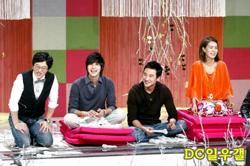 2007 12 Yoo Jae-suk & Kim Won-hee's Come to Play 1
