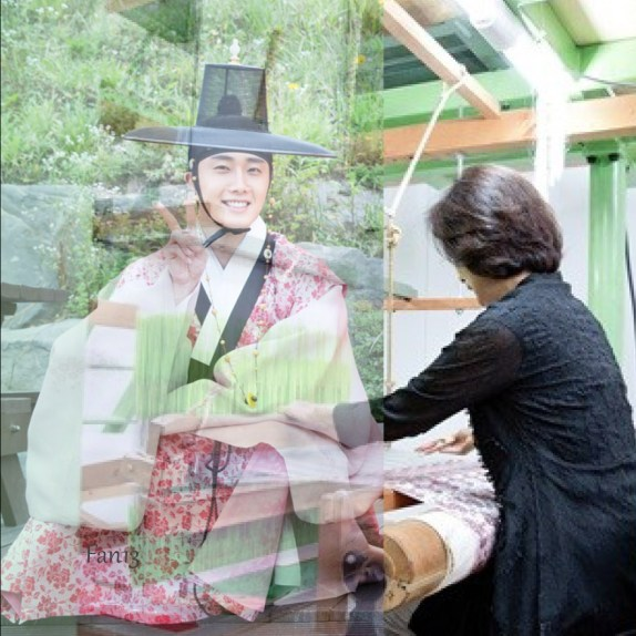 jungilwoo and his mom 1