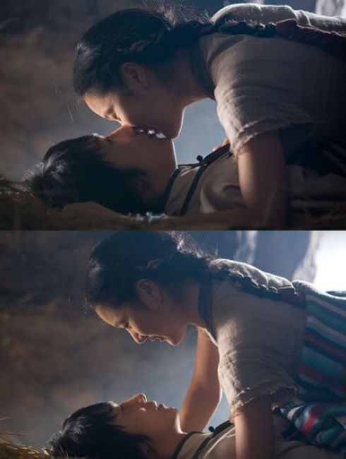 "Iljimae in Love and Jung II-woo's First ""Real"" on-screen kiss!"
