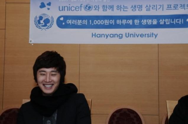 2009 11 11 JIW UNICEF at Hanyang 1