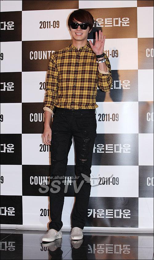 2011 9 20 Jung II-woo D Countodown Premiere 1