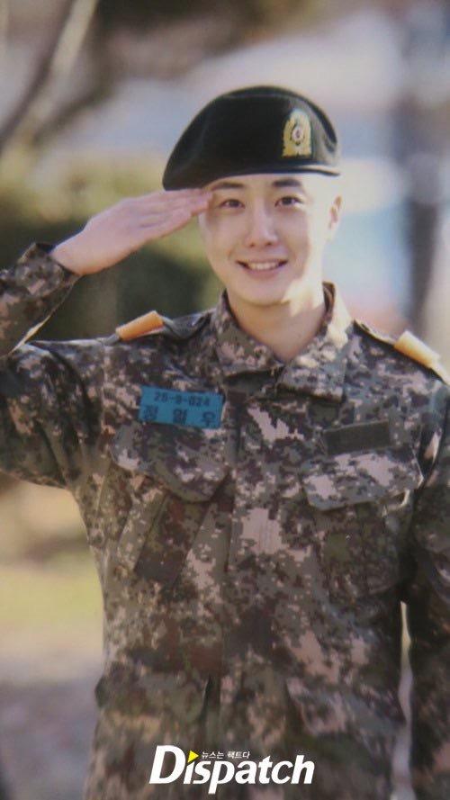 Jung II-woo during Military Basic Training 4.JPG