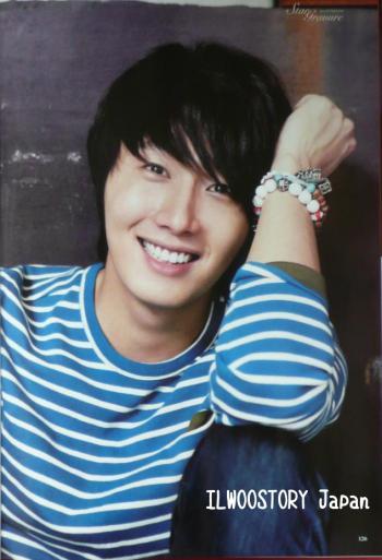 2011 11 Jung II-woo in Haru Hana Magazine 00004