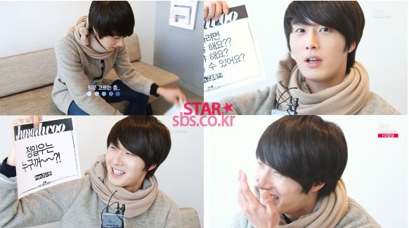 2011 12 22 Jung II-woo visits SBS POWER FM 25