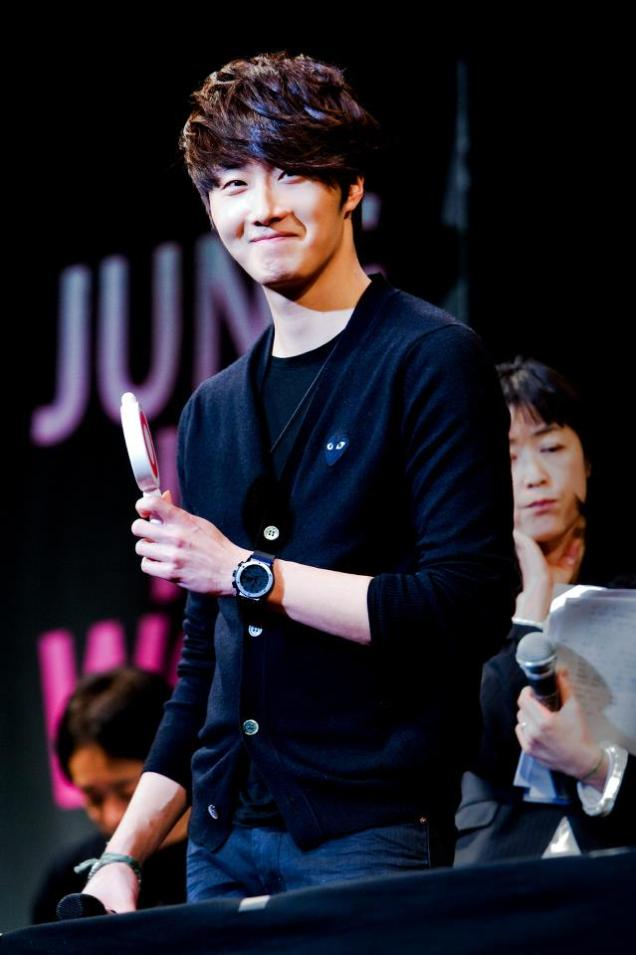 2012 2 6 Jung II-woo at the 49 Days Fan Meet in Tokyo Japan 00018