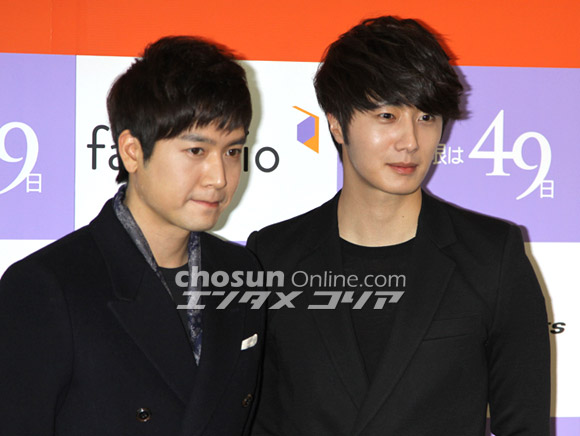 2012 2 6 Jung II-woo at the 49 Days Press Conference in Tokyo Japan 00003