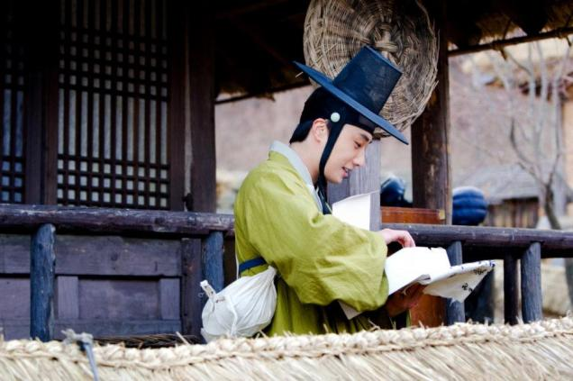 2012 Jung II-woo in The Moon Embracing the Sun Episode 7 Extras BTS 00009