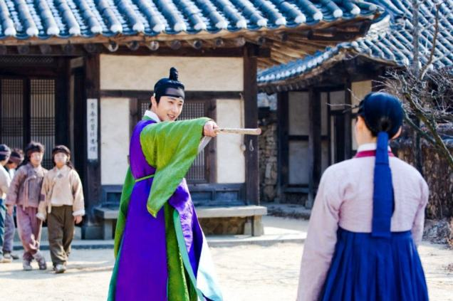 Jung II-woo in The Moon that Embraces the Sun BTS Episode 15 00010