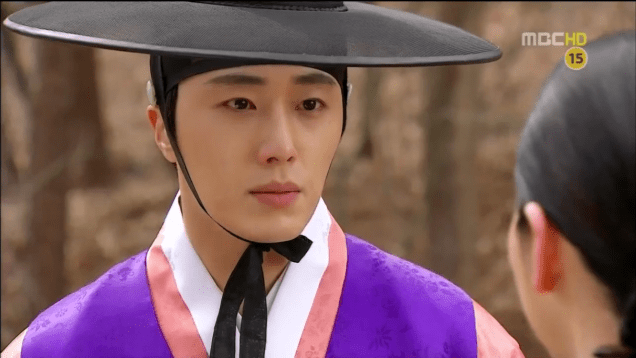 Jung II-woo in The Moon that Embraces the Sun Episode 18 00011