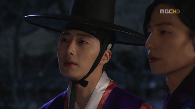 Jung II-woo in The Moon that Embraces the Sun Episode 19 00019