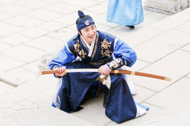 Jung II-woo in The Moon that Embraces the Sun Episode 20 BTS Medium 00008