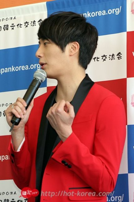 2012 4 10 Jung II-woo at Press Conference Japan00015