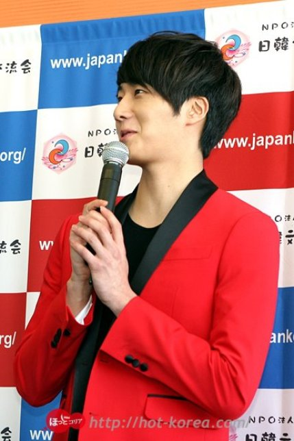 2012 4 10 Jung II-woo at Press Conference Japan00025
