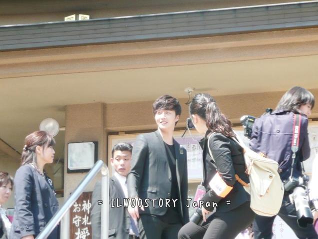 2012 4 9 Jung II-woo at Koma Temple in Hidaka Japan.00020