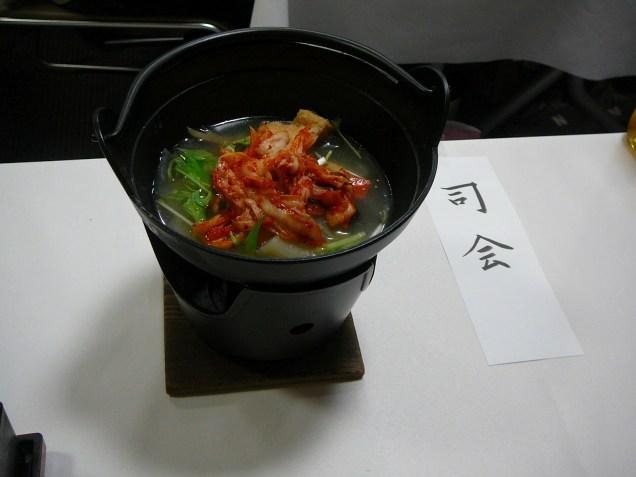 2012 4 9 Jung II-woo at Koma Temple in Hidaka Japan. Special Lunch, etc.00002