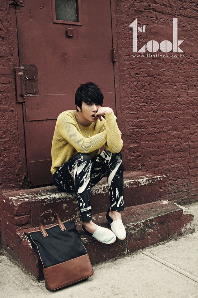 2012 4 Jung II-woo for First Look Magazine Vol. 19 New York, Ordinary 00003