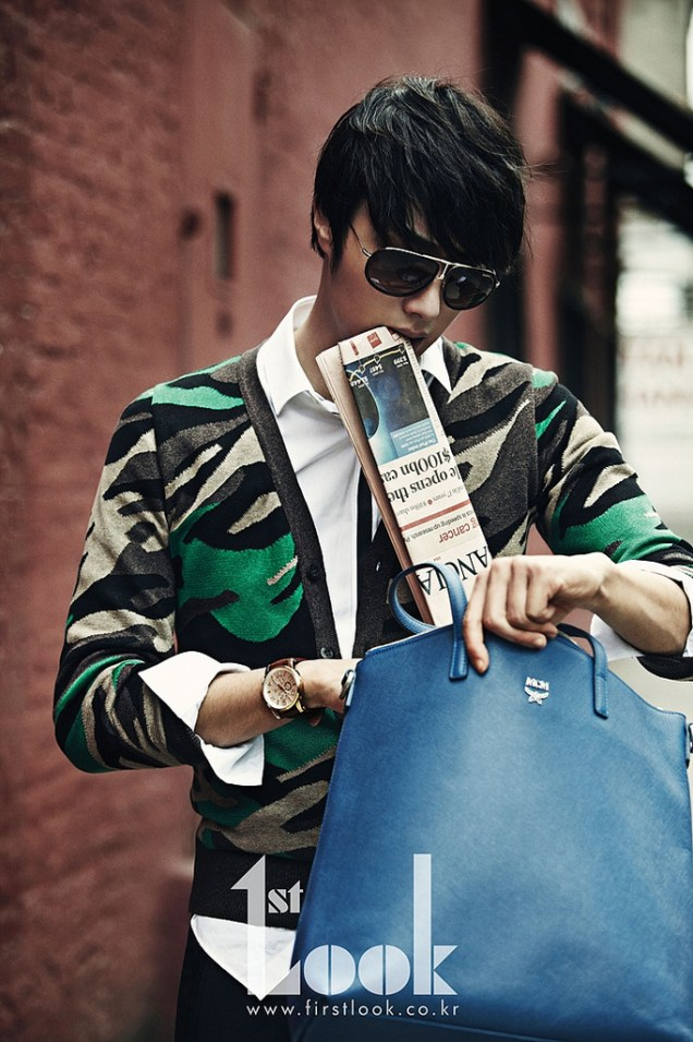 2012 4 Jung II-woo for First Look Magazine Vol. 19 New York, Ordinary 00009