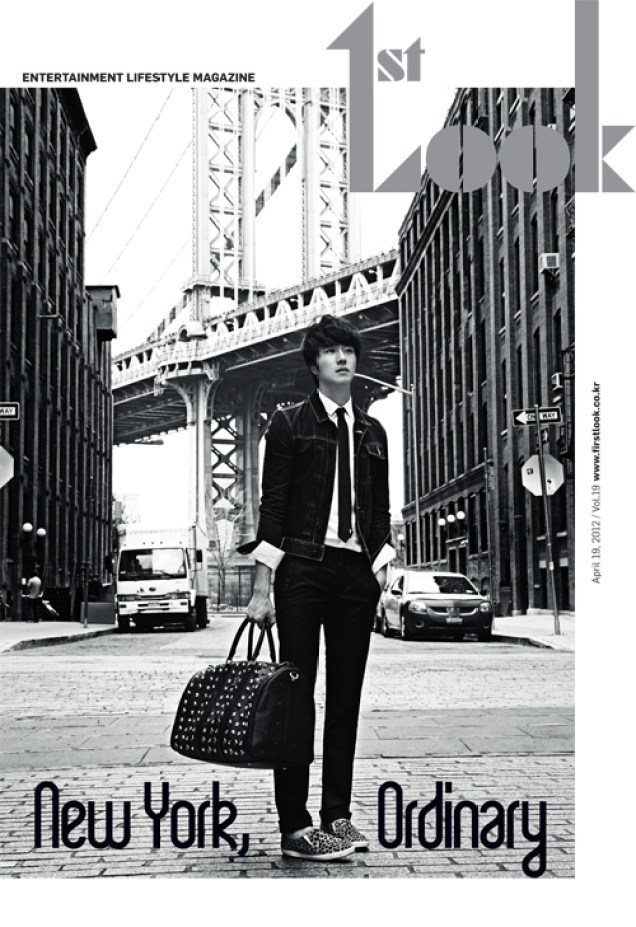 2012 4 Jung II-woo for First Look Magazine Vol. 19 New York, Ordinary A
