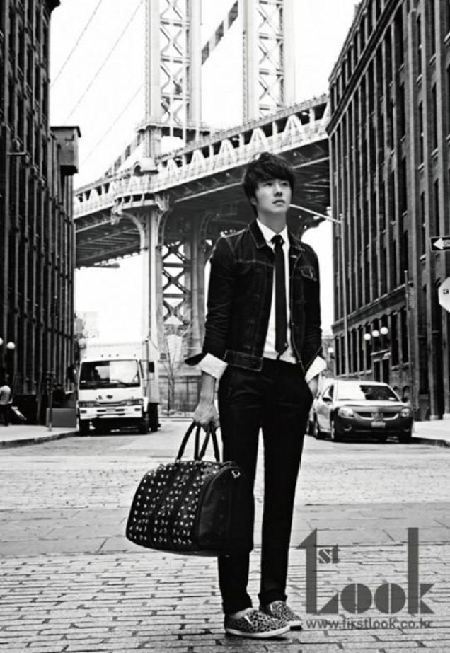 2012 4 Jung II-woo for First Look Magazine Vol. 19 New York, Ordinary B