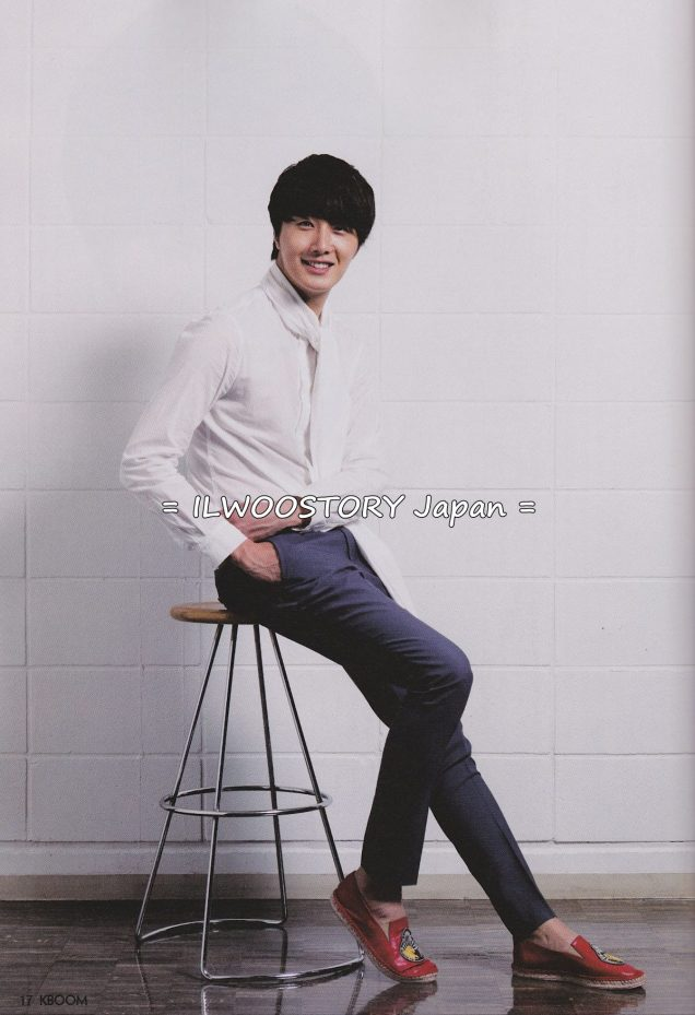 2012 5 Jung II-woo in KBOOM July 2012 issue (2012.5.21 release)00001