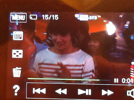 2012 10 23 Jung II-woo travels to Taiwan. Hanging out!00000