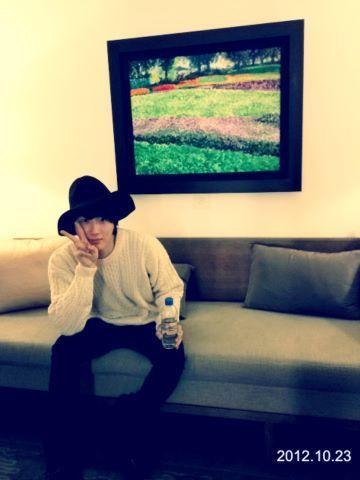2012 10 23 Jung II-woo travels to Taiwan. His Social Media Photos00001