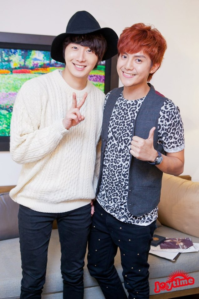 2012 10 23 Jung II-woo travels to Taiwan. I love JK Program HOST 2 00004