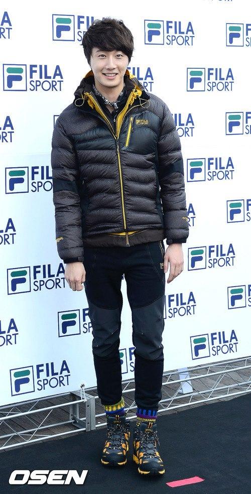 2012 11 3 Jung II-woo for FILA's Green Campaign00007