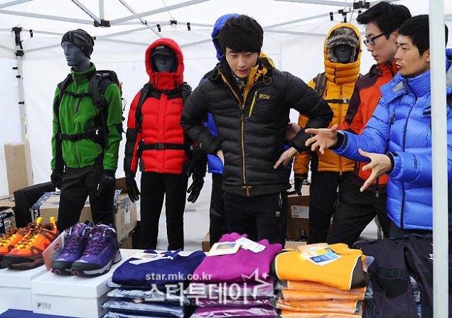 2012 11 3 Jung II-woo for FILA's Green Campaign00027