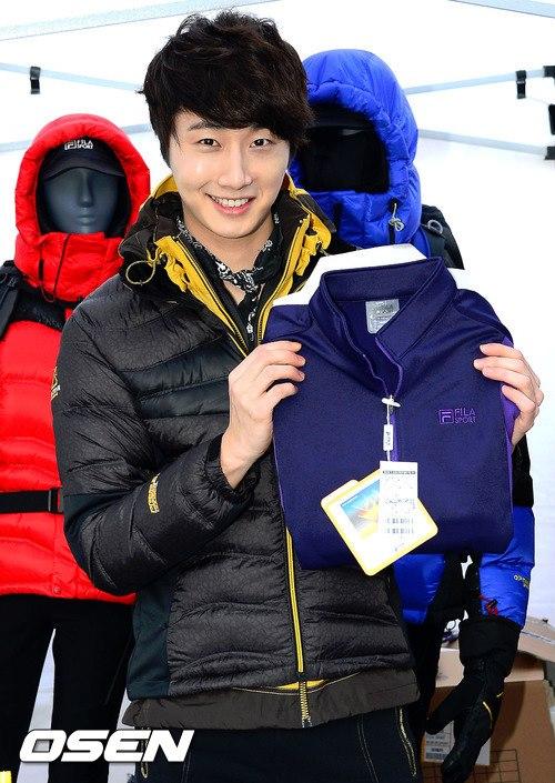 2012 11 3 Jung II-woo for FILA's Green Campaign00029